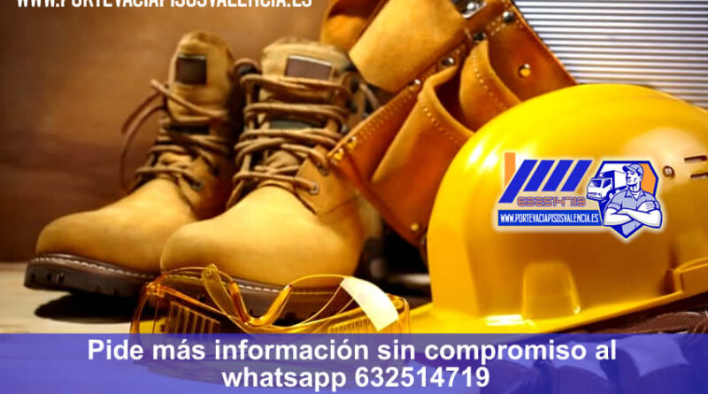 Servicios Profesionales Recogida de Escombros Vaciados de pisos y portes en Valencia al mejor precio whatsapp 632514719 portevaciapisosvalencia.es